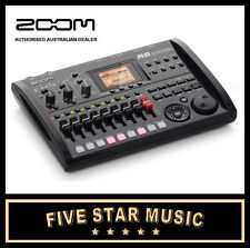 ZOOM R8 8-TRACK DIGITAL RECORDER with CONDENSER MICROPHONES & CUBASE LE - NEW