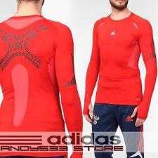 adidas Men Techfit™ Baselayer Compression Preparation Long Sleeve Tee Jersey 2XL