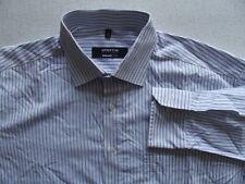 TA5363 Eterna EXCELLENT classic fit Hemd 42 Blau Weiß Gestreift Gut