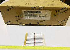 (50) Telefunken 1N4745A 1W 16V Zener Diode, Glass DO-41, Tape/Reel, NEW!