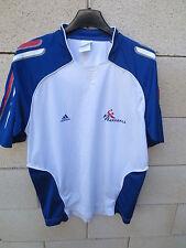 Maillot handball FRANCE ADIDAS blanc karaboué daouda shirt S