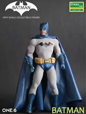 Crazy Toys Blue Batman Collectible 1/6 Scale Action Figure New In Box
