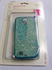 New Tmobile Olo Glimmer Teal Hard Case Glitter Cover For Samsung Galaxy S4 i9500