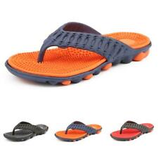 Mens Clip Toe Thong Beach Slippers Shoes Slingbacks Outdoor Walking Sports New D