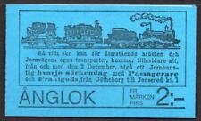 SWEDEN Slot Machine Booklets 1975 SG SB303S Steam Locomotives, Complete