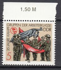 DDR 1988 Mi. Nr. 3177 mit Oberrand Postfrisch (25366)