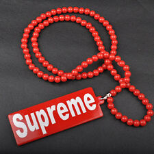 Supreme Hellaflush Car Rearview Mirror Hanging interior Ornament Pendant Necklac
