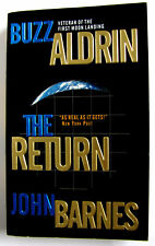 Buzz Aldrin Signed book The Return Paperback Copy Nasa Autograph / Autographed