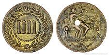 Roman spintria Bordello voce TOKEN in bronzo