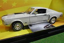 FORD MUSTANG CJ428 1968 Fastback 1/18 AMERICAN MUSCLE ERTL 32518 voiture miniatu