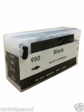 Black Refillable Ink Cartridge for HP 950 XL Officejet Pro 8100 8600 8620 8630