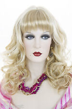Long Blonde Red Wavy Curly Wigs