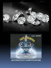 """Lotto 10 diamanti taglio brillante tot. 0,50 ct CERTIFICATI - PREZZO """"INGROSSO""""!"""