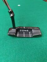 "Tour Select 835 Z1 ZONE Blade Putter RH 35"" Steel Shaft Pistol Grip Milled Face"