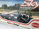 COX MODEL SKY RANGER READY 2 FLY ELECTRIC R/C TRAINER FOR PARTS/RESTORATION