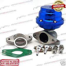 38MM 2 BOLT WASTEGATE BLUE 12PSI TiAL Style F38 Air Cooled 1 Year Warranty