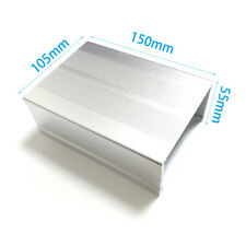 1PC Aluminum project Box electrical Enclosure Case DIY 55mmX105mmX150MM NEW