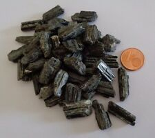 MINERAUX COLLECTION ESOTERISME  lot DE 5 TOURMALINE brute DE MADAGASCAR