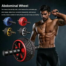 Ab Roller Wheel Abdominal Core Workout Training  Fitness Gym Exercise Equipment