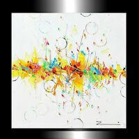 Acrylgemälde Malerei handgemalt Kunst Unikat  70 x 70 cm  Zenic XXL
