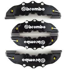 4x Caches étriers de freins 3D Universel disque TOUTES MARQUES *Noir*