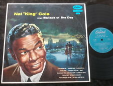 NAT KING COLE Sings Ballads Of The Day LP Early Flipback