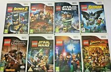 Wii Game - Lego Series - Star Wars/Harry potter/Batman etc...  **Multi Listing**