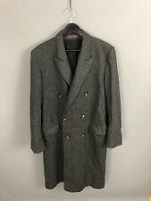 CHRISTIAN DIOR VINTAGE TWEED Overcoat - 44R - Grey - Great Condition - Mens