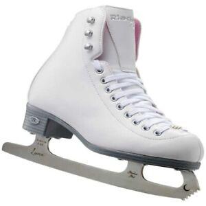 Riedell 14 Pearl Figure Skates