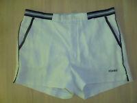 vintage 80s CRANE Tennis Shorts oldschool 80er jahre Sporthose weiß D50 M