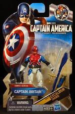 "2012 HASBRO MARVEL CAPTAIN AMERICA FIRST AVENGER CAPTAIN BRITAIN 4"" FIGURE MOC"