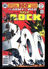 Our Army at War #300 last issue features Sgt. Rock