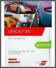 15,65€/m² Oracal 970RA Autofolie Gegossen Folie Matt Glanz Rapid Air blasenfrei