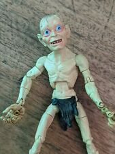 Toy Biz Lord of The Rings Return King SMEAGOL ONE RING Figure Super Poseable