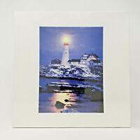 Vintage SEALED Lighthouse Unbranded **Mystery** Jigsaw Puzzle