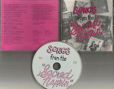 PROMO 1990 CD w/ DAVID BOWIE Marty Willson Piper FRANK ZAPPA Jerry jeff Walker s