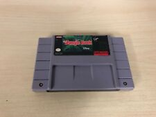 The Jungle Book Super Nintendo SNES Cartridge Cart Game Original Disney Disney's
