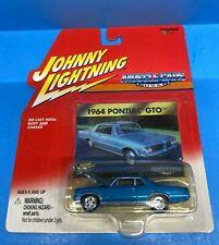 Johnny Lightning Muscle Cars USA 1964 Pontiac GTO - Blue