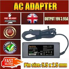 TOSHIBA SATELLITE A100 A105 A200 A350 SERIES NEW TECHVS LAPTOP POWER ADAPTER