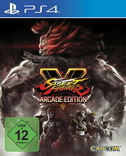 Street figther V-Arcade Edition ps4 nuevo & OVP