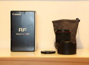 CANON RF 50MM F1.2L USM Objektiv