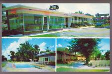 SAVANNAH GEORGIA GA 1964 Old South Manor Motor Court Restuarant Vintage Postcard