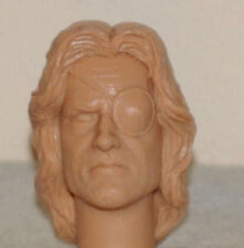 1/6 SCALE CUSTOM KURT RUSSELL SNAKE PLISSKEN ACTION  FIGURE HEAD