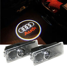 2 pcs Laser LED Auto Car Door Courtesy Welcome Projector Logo Lights For Audi