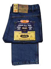 MENS AZTEC 29 INCH SHORT LEG REGULAR FIT JEAN ZIP FLY - STONEWASH BLUE