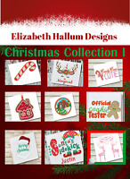 Christmas Collection Set  Machine Embroidery Design