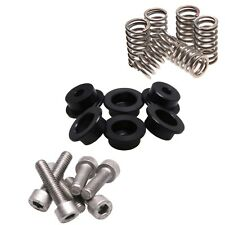 Oberon Performance Black Ducati Dry Clutch Spring Cap Kit CLU-0115-BLACK