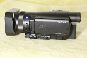 4K-Camcorder Sony FDR-AX100E