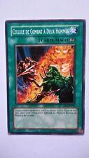 Carte Yu Gi Oh Cellule De Combat A Deux Hommes DR3-FR045