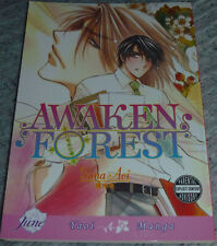 YAOI Manga AWAKEN FOREST Yuna Aoi ENGLISH June First Edition 2009 mezame no mori